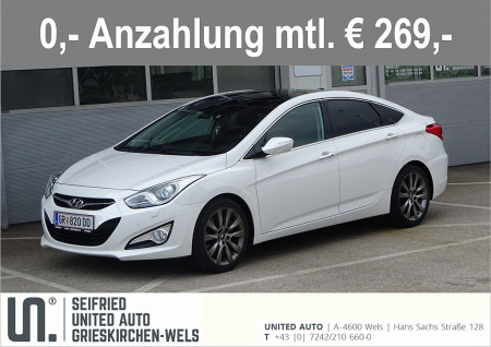 Hyundai i40 Style 1,7 CRDi Aut. *VOLLAUSSTATTUNG* bei BM || Seifried United Auto Grieskirchen Wels in