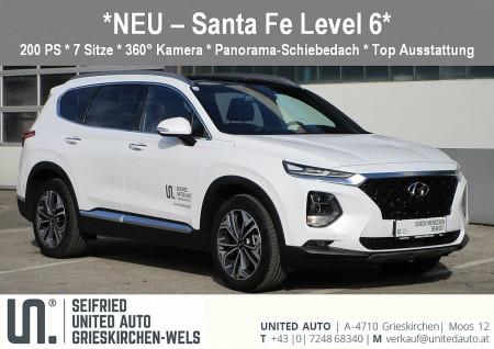 Hyundai Santa Fe 2,0 CRDi 4WD Level 6 Aut. bei BM || Seifried United Auto Grieskirchen Wels in