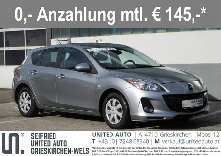 Mazda Mazda3 Sport CD116 Takumi  *8-FACH BEREIFT*NAVI* bei BM || Seifried United Auto Grieskirchen Wels in