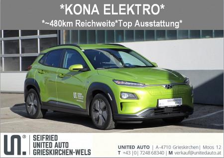 Hyundai Kona Elektro Level 5 *verfügbar ab Mai 2019* bei BM || Seifried United Auto Grieskirchen Wels in