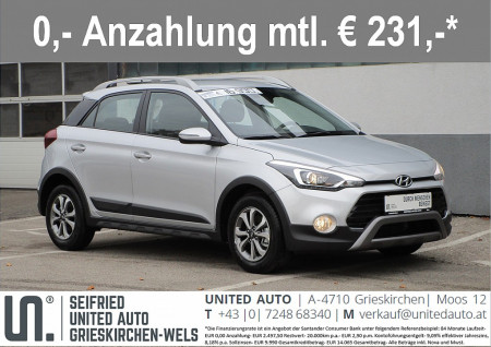 Hyundai i20 Active 1,0 T-GDI Level 3 bei BM || Seifried United Auto Grieskirchen Wels in