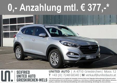 Hyundai Tucson 2,0 CRDI 4WD Ed. 25 *ALLRAD*NAVI*SITZHZG.* bei BM || Seifried United Auto Grieskirchen Wels in