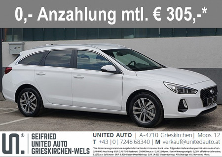 Hyundai i30 CW 1,6 CRDi Start/Stopp Premium bei BM || Seifried United Auto Grieskirchen Wels in