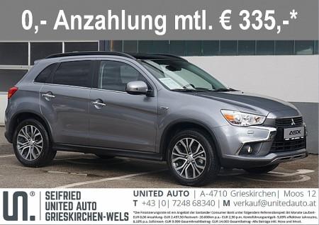Mitsubishi ASX 1,6 DI-D LP Instyle 4WD *VOLLAUSSTATTUNG* bei BM || Seifried United Auto Grieskirchen Wels in