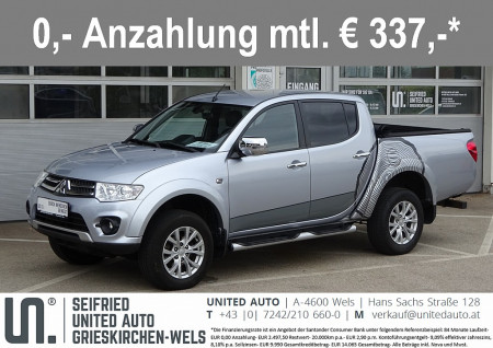 Mitsubishi L 200 Top Edition DC 4WD 2,5 DID Aut. *19.992€ NETTO* bei BM || Seifried United Auto Grieskirchen Wels in
