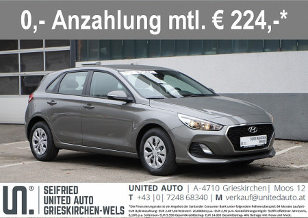 Hyundai i30 1,4 MPI Level 2 bei BM || Seifried United Auto Grieskirchen Wels in