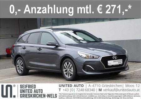 Hyundai i30 CW 1,0 T-GDI GO! bei BM || Seifried United Auto Grieskirchen Wels in