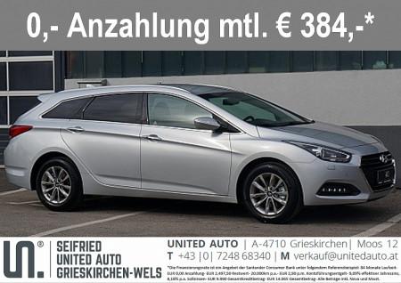 Hyundai i40 CW Business Class Plus 1,7 CRDi DCT Aut. bei BM || Seifried United Auto Grieskirchen Wels in