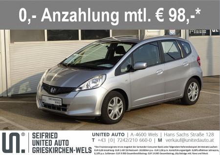 Honda Jazz 1,2i-VTEC Trend*8fach Bereift*neu überprüft* bei BM || Seifried United Auto Grieskirchen Wels in