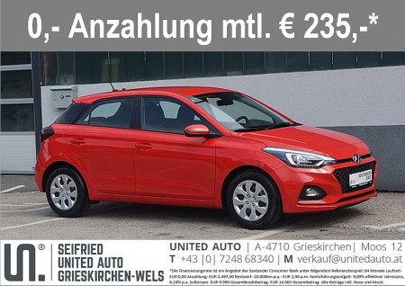 Hyundai i20 1,25 i20 First Edition 2 *FACELIFT* bei BM || Seifried United Auto Grieskirchen Wels in