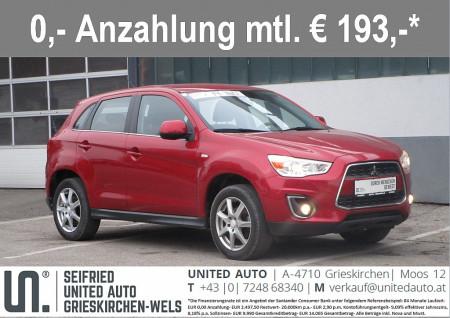Mitsubishi ASX 1,8 DI-D Invite *8-FACH BEREIFT*PDC* bei BM || Seifried United Auto Grieskirchen Wels in