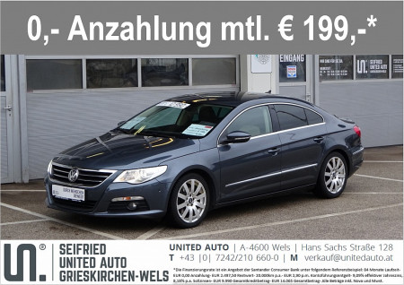 VW Passat CC 2,0 TDI DPF DSG*ACC*Navi*Xenon*Leder* bei BM || Seifried United Auto Grieskirchen Wels in