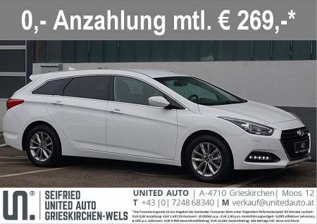 Hyundai i40 BC Plus *NAVI*XENON*SMART-KEY* bei BM || Seifried United Auto Grieskirchen Wels in