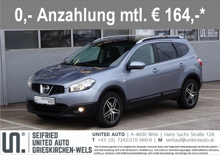 Nissan Qashqai+2 2,0 dCi Tekna 4WD DPF Aut. bei BM || Seifried United Auto Grieskirchen Wels in