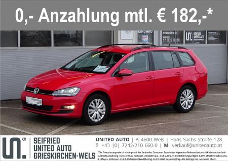 VW Golf Variant CL 1,6 TDI DSG*Navi*Xenon*ACC*Massagesitz*uvm* Comfortline bei BM || Seifried United Auto Grieskirchen Wels in