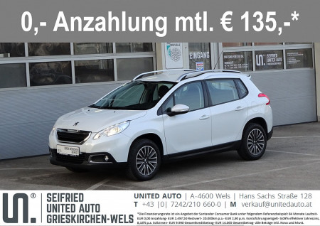 Peugeot 2008 1,2 VTi Active*Einarkh*Bluetooth*8fach-Bereift*uvm* bei BM || Seifried United Auto Grieskirchen Wels in