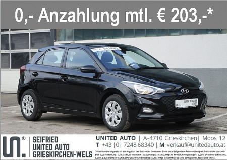 Hyundai i20 1,25 Level 2 bei BM || Seifried United Auto Grieskirchen Wels in