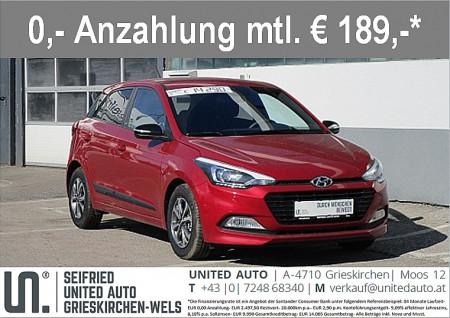 Hyundai i20 1,25 GO! PLUS bei BM || Seifried United Auto Grieskirchen Wels in