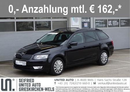 Skoda Octavia Combi 1,6 TDI Amb*Navi*Bluetooth*Tempomat* Ambition bei BM || Seifried United Auto Grieskirchen Wels in