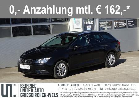Seat Leon ST Style 1,6 TDI CR *Navi*Sitzheizung*PDC vo+hi*uvm* bei BM || Seifried United Auto Grieskirchen Wels in