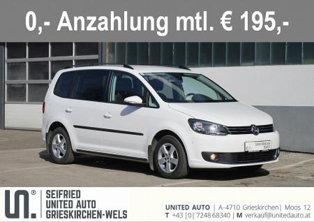 VW Touran 4Friends 1,6 TDI DSG*AHK abnehm.*Sitzheizung*Parksensoren vo.&hi.* bei BM || Seifried United Auto Grieskirchen Wels in