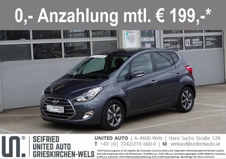 Hyundai iX20 1,4 CVVT GO+*Sitz+Lenkradheizung*Bluetooth*uvm* bei BM    Seifried United Auto Grieskirchen Wels in