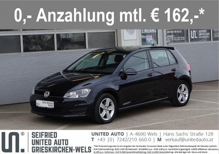 VW Golf CL 1,6 BMT TDI*Navi*Anhängerk.schwenkb*Sitzheizung*uvm* bei BM || Seifried United Auto Grieskirchen Wels in