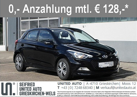 Hyundai i20 1,25 Limited *BLUETOOTH*KLIMA* bei BM || Seifried United Auto Grieskirchen Wels in