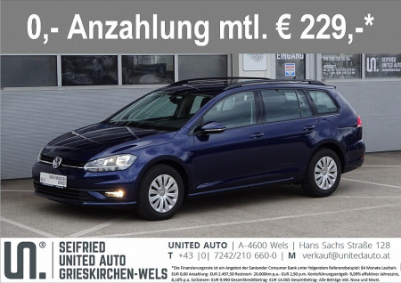 VW Golf Variant TL 1,6 TDI*FACELIFT*Touchscreen*Sitzheizung*uvm* Trendline bei BM || Seifried United Auto Grieskirchen Wels in
