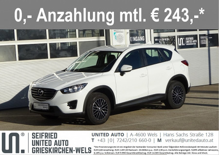 Mazda CX-5 G165 Emotion*Startknopf*8-fach Bereift*uvm* bei BM || Seifried United Auto Grieskirchen Wels in