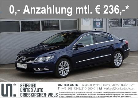 VW Passat CC 2,0 TDI DPF DSG*NAVI*Massage*Sitzkühlung*Xenon* bei BM || Seifried United Auto Grieskirchen Wels in