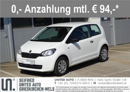 Skoda Citigo *75PS*Klima*CD-Radio* bei BM || Seifried United Auto Grieskirchen Wels in