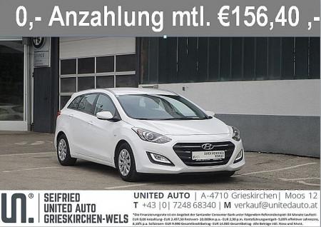 Hyundai i30 CW 1,4 CRDi Business Class bei BM || Seifried United Auto Grieskirchen Wels in