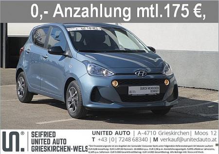 Hyundai i10 1,0 Level 2 Plus bei BM || Seifried United Auto Grieskirchen Wels in