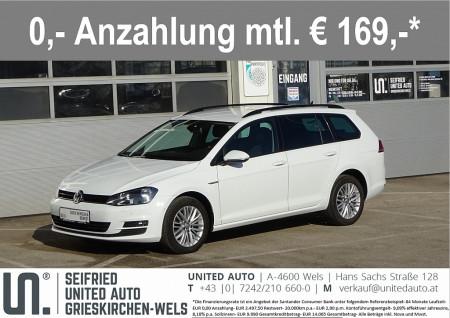 VW Golf Variant Cup 1,6 TDI 4Motion*Standheizung*Anhängerk. schwenkb*uvm* bei BM || Seifried United Auto Grieskirchen Wels in