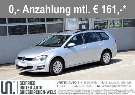 VW Golf Variant CL 1,6 TDI DSG*NAVI*Winterpaket*8-fach Bereift* Comfortline bei BM || Seifried United Auto Grieskirchen Wels in