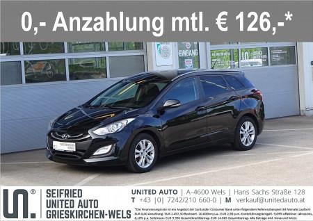 Hyundai i30 CW 1,4 CVVT Go*Sitzheizung*Tempomat*Bluetooth*uvm bei BM || Seifried United Auto Grieskirchen Wels in