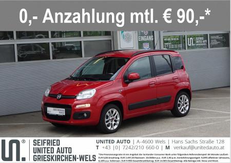 Fiat Panda 1,2 69 Lounge*Bluetooth*8-fach Bereift* bei BM || Seifried United Auto Grieskirchen Wels in