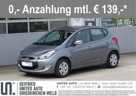 Hyundai iX20 1,4 CVVT Europe+*Klimaaut*PDC*8-fach Bereift*uvm* bei BM    Seifried United Auto Grieskirchen Wels in