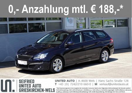 Peugeot 308 SW 2,0 BlueHDi 150 Aut.*Navi*PDC vo+hi*Sitzheizung*uvm Allure bei BM || Seifried United Auto Grieskirchen Wels in
