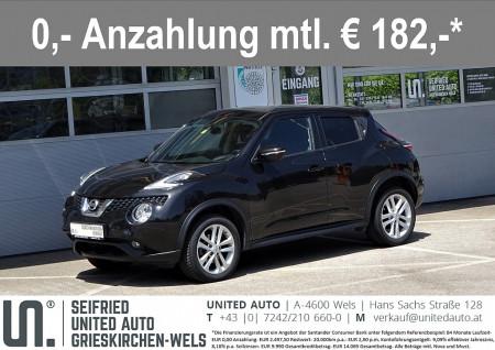Nissan Juke 1,6 Acenta Aut.*Navi*Rückfarkamera*Bluetooth*uvm bei BM || Seifried United Auto Grieskirchen Wels in