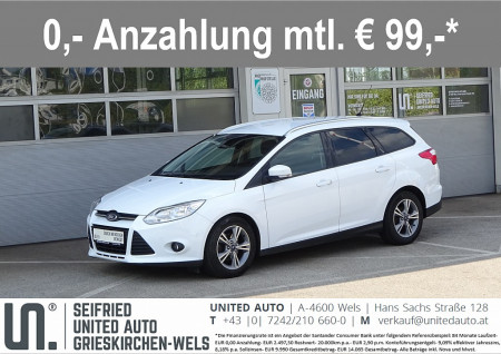 Ford Focus Trav.Easy 1,6 TDCi*Winterpaket*Einparkassistent*uvm* bei BM || Seifried United Auto Grieskirchen Wels in
