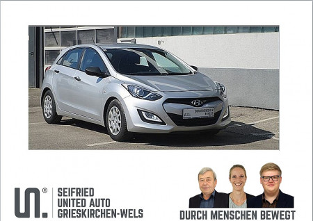 Hyundai i30 1,4 CVVT Europe bei BM || Seifried United Auto Grieskirchen Wels in