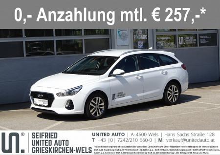 Hyundai i30 CW 1,6 CRDi Editon*Navi*Rückfahrk*Multifunktion*Winterpaket*uvm Edition 25 bei BM || Seifried United Auto Grieskirchen Wels in