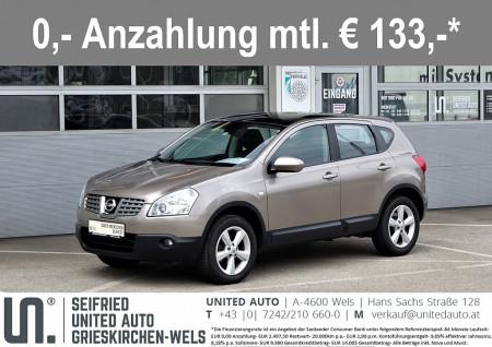 Nissan Qashqai 1,6 16V 2WD*Panoramdach*2-Zonen-Klima*uvm* bei BM || Seifried United Auto Grieskirchen Wels in