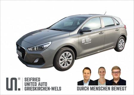 Hyundai i30 1,4 MPI Level 2 *Vorführwagen*Tempomat*Spurhalteassistent* bei BM    Seifried United Auto Grieskirchen Wels in