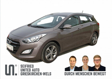 Hyundai i30 CW 1,4 CVVT Comfort * bis Juni 2020 NW-Garantie * Klimaautomatik bei BM    Seifried United Auto Grieskirchen Wels in