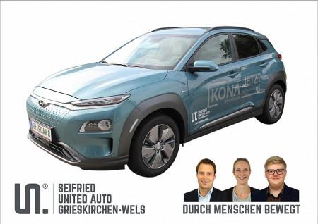 Hyundai Kona Elektro Level 5 + P1 *prompt verfügbar* bei BM || Seifried United Auto Grieskirchen Wels in