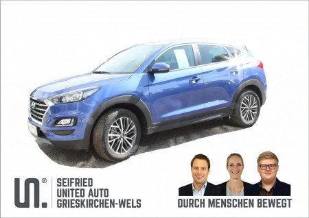 Hyundai Tucson 1,6 CRDI 4WD Level 3 PLUS DCT Automatik bei BM || Seifried United Auto Grieskirchen Wels in