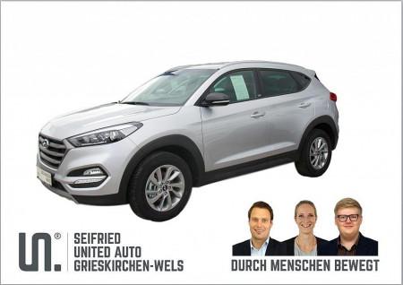Hyundai Tucson 1,7 CRDI GO!*fixes Navi- kein anstecken am Handy* bei BM || Seifried United Auto Grieskirchen Wels in